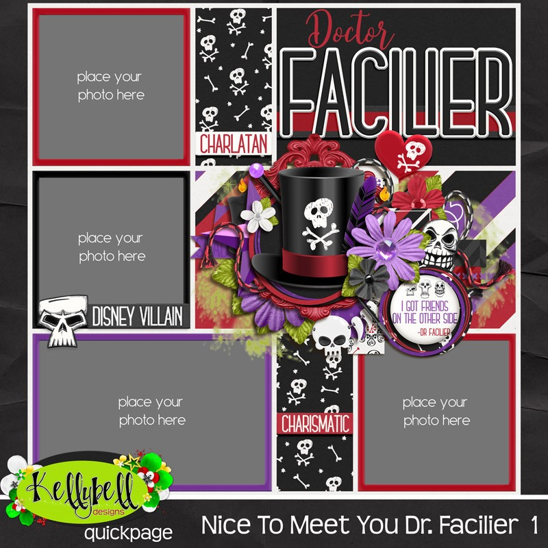 Nice To Meet Dr Facilier QP1E
