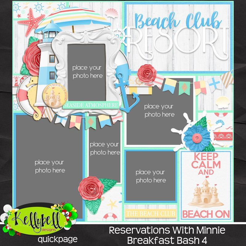 Reservations with Minnie by Kellybell Designs