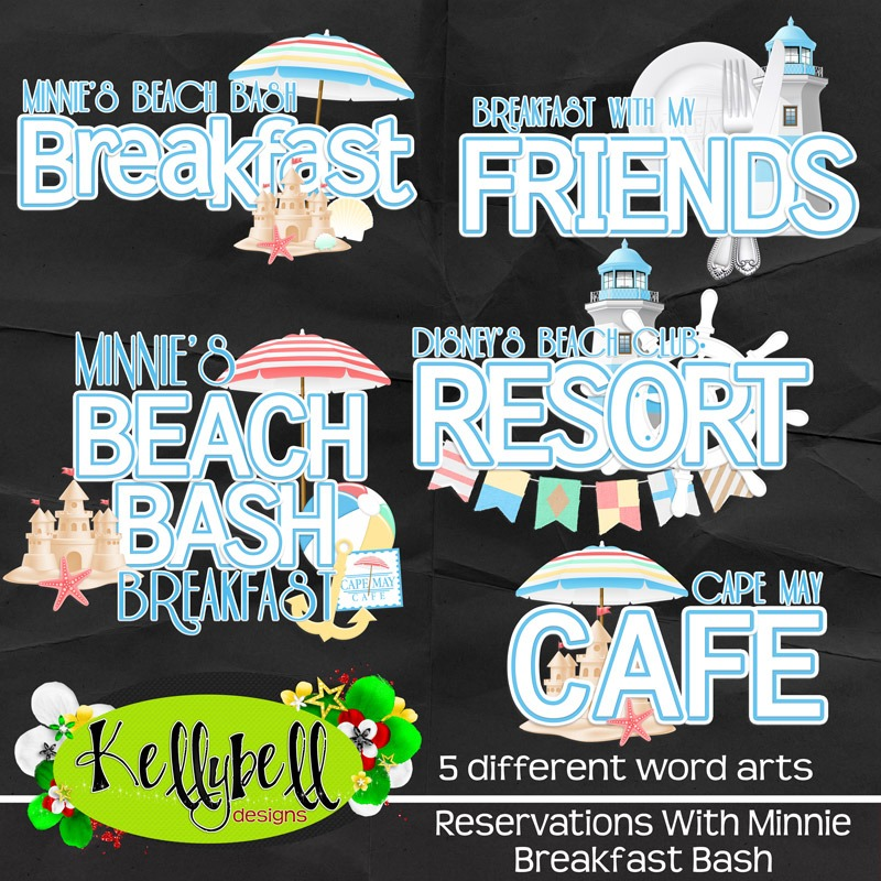 Reservations With Minnie Breakfast Bash – Kellybell Designs